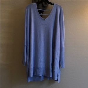 Boutique Oversized Fleece Tunic (2x)